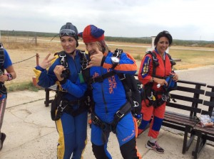 Michelle Manning's Skydive group