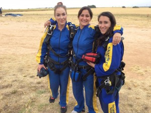 Michelle Manning's Skydive group photo