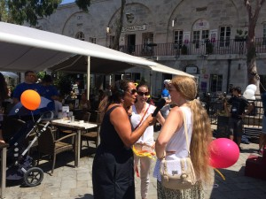 Clock to rock Interview in casemates