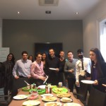 Pancake day at the Deloitte office
